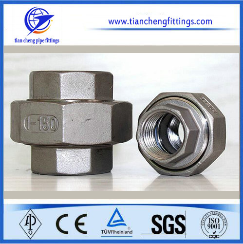 Stainless Steel Female Weld Hexagon Nipple