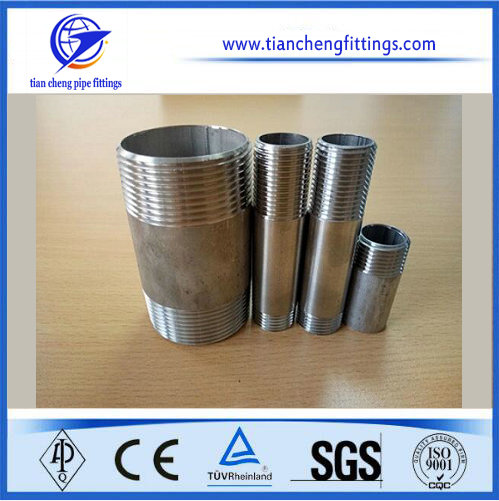 Scewed Stainless Steel Pipe Nipples